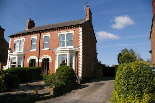 Thumbnail Semi-detached house to rent in Richmond Terrace, Whitchurch, Shropshire