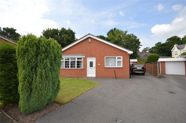 Thumbnail Detached bungalow for sale in Venables Close, Spital, Merseyside