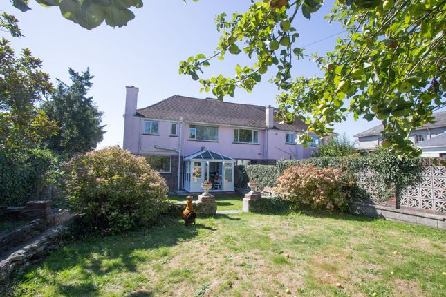 Thumbnail Semi-detached house for sale in Molesworth Road, Stoke, Plymouth