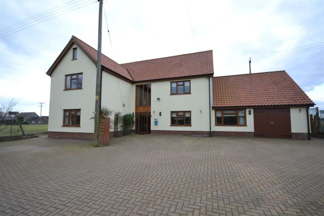 Thumbnail Detached house for sale in Poplar Road, Attleborough