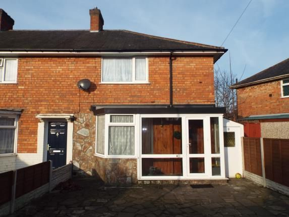 Thumbnail End terrace house for sale in Rawdon Grove, Birmingham, West Midlands