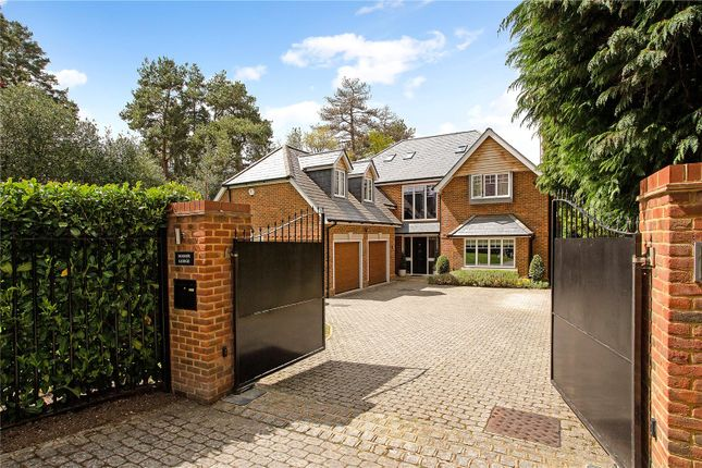 Thumbnail Detached house for sale in St. Mary's Road, Ascot, Berkshire