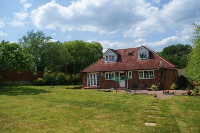 Thumbnail Detached house for sale in London Road, Ruscombe, Reading