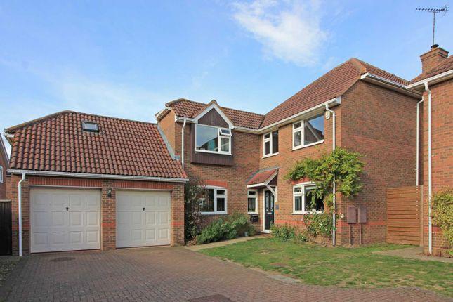 Thumbnail Detached house for sale in Lodge Close, Cheddington, Leighton Buzzard
