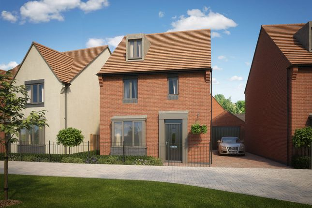 "Thumbnail Detached house for sale in ""Bayswater"" at Lawley Drive, Lawley, Telford"