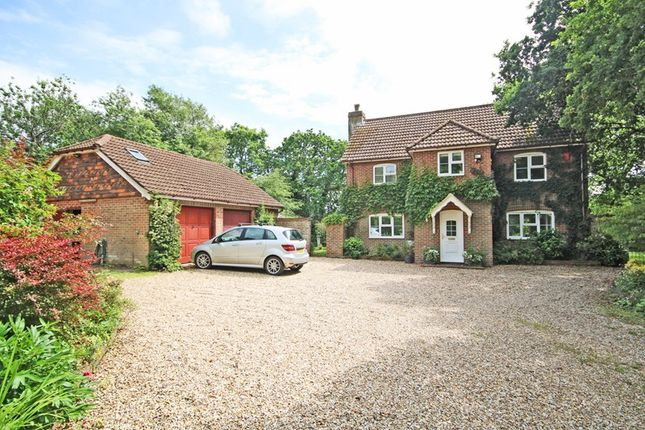 Thumbnail Detached house for sale in Willow Lane, Bransgore, Christchurch