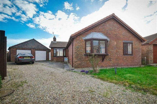 Thumbnail Bungalow for sale in Highfield Rise, Preston, East Yorkshire