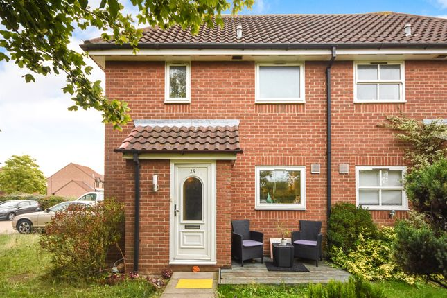 Thumbnail End terrace house for sale in Campbell Close, Wickford