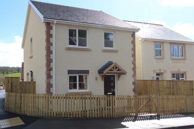 Thumbnail Detached house for sale in Glanfryn Court, Drefach, Llanelli