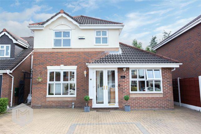 Thumbnail Detached house for sale in Salterton Drive, Bolton, Lancashire