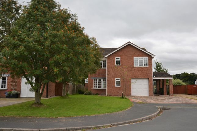 Thumbnail Detached house to rent in Berrisford Close, Market Drayton