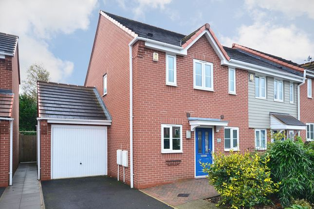Thumbnail Town house for sale in Warners Drive, Weston Heights, Stoke-On-Trent