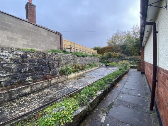 Garden of Bromfield Close, Mold, Flintshire, . CH7