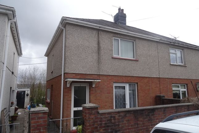 Semi-detached house for sale in Tre Ifor, Llwycoed, Aberdare