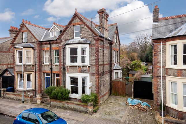 Thumbnail Semi-detached house for sale in Caius Terrace, Glisson Road, Cambridge