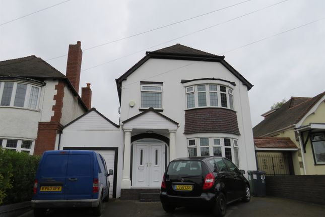 Thumbnail Detached house for sale in Lichfield Road, Rushall, Walsall