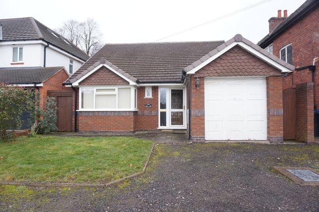 Detached bungalow in  Lichfield Road  Four Oaks  Sutton Coldfield  Birmingham