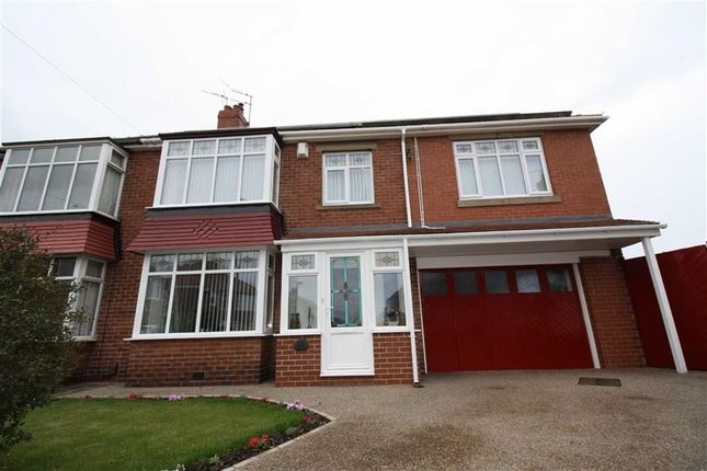 Thumbnail Semi-detached house to rent in Keswick Drive, North Shields
