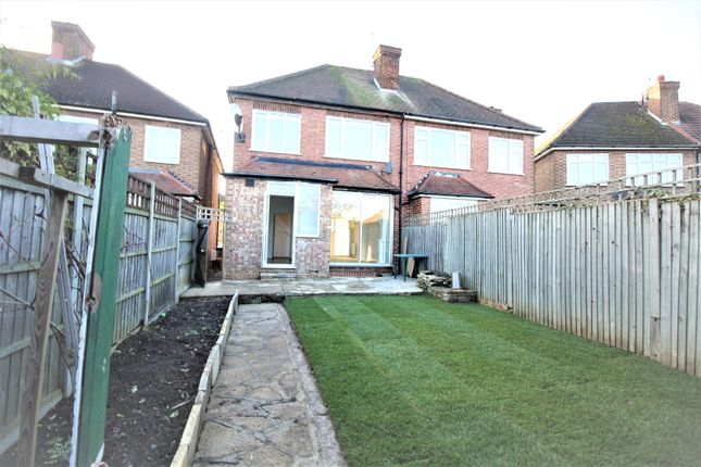 Thumbnail Semi-detached house to rent in Brunswick Park Road, London