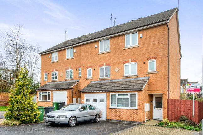 Thumbnail End terrace house for sale in Honeychurch Close, Smallwood, Redditch