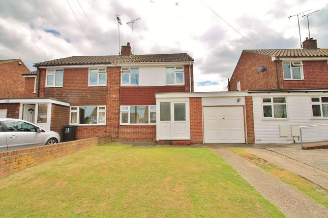 Thumbnail Semi-detached house for sale in Highwood Close, Higham, Rochester
