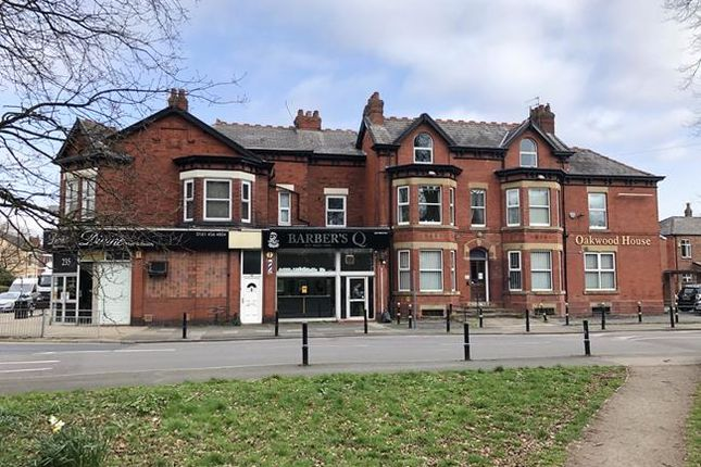 Thumbnail Commercial property for sale in Bramhall Lane, Stockport
