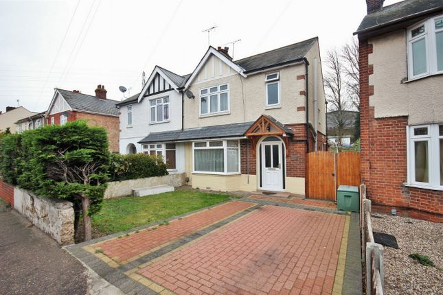 Thumbnail Semi-detached house for sale in Old Heath Road, Colchester, Essex