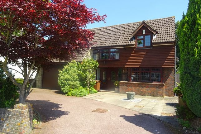 Thumbnail Detached house for sale in Springvale, Wigmore, Kent.