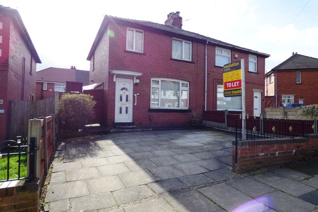 Thumbnail Semi-detached house to rent in Clifton Street, Kearsley, Bolton