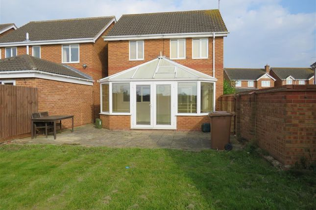 Thumbnail Detached house to rent in Thornham Way, Eastrea, Peterborough