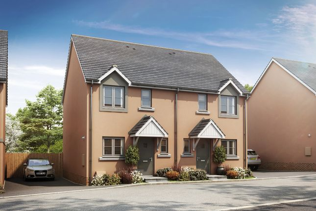Thumbnail End terrace house for sale in The Cranmere, Cornwood Chase, Cornwood Road, Ivybridge