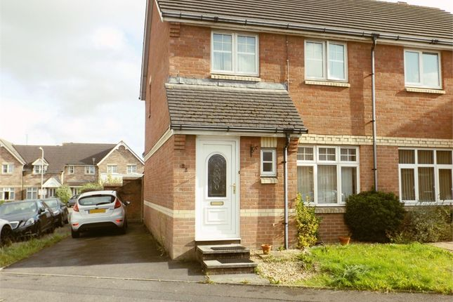 Thumbnail Semi-detached house for sale in Cathedral Way, Baglan Moors, Port Talbot, West Glamorgan