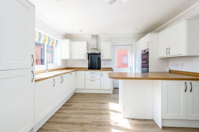 Thumbnail Detached bungalow for sale in Pound Cottages, Bloomsbury Close, Oulton, Lowestoft