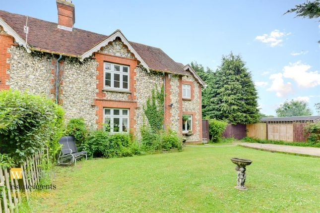 Thumbnail Semi-detached house for sale in Maxwell Cottage, Findon, Worthing, West Sussex