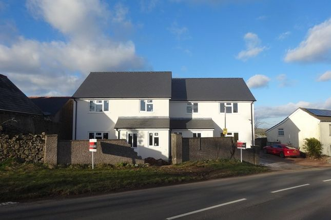 Thumbnail Semi-detached house for sale in Coleford Road, St. Briavels, Lydney