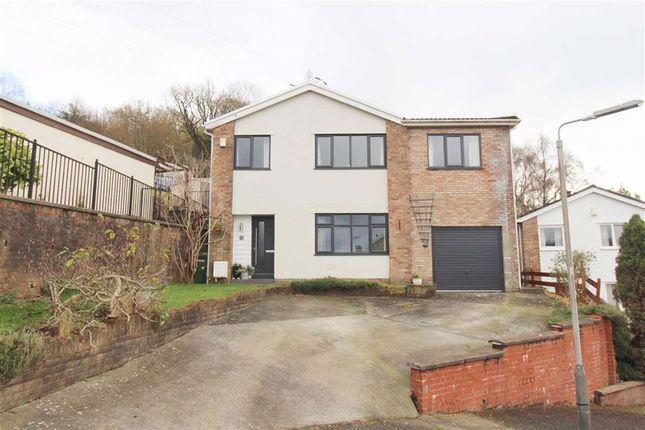 Thumbnail Detached house for sale in Hilltop Crescent, Pontypridd