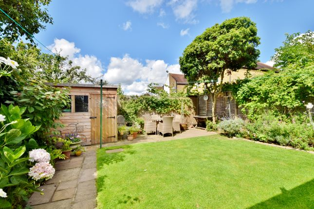 Garden of Coombe Crescent, Hampton TW12