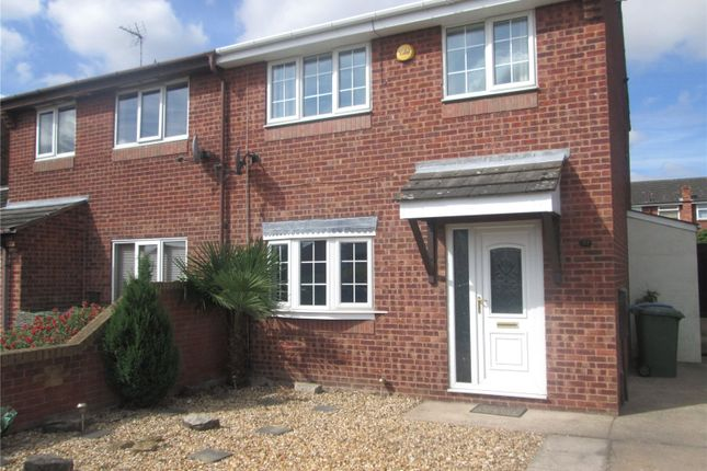 Thumbnail Semi-detached house to rent in Wharfedale, Worksop, Nottinghamshire