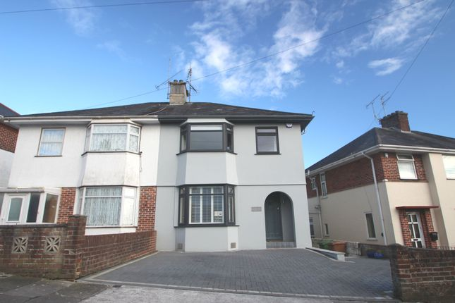 Thumbnail Semi-detached house for sale in Lopes Road, Plymouth
