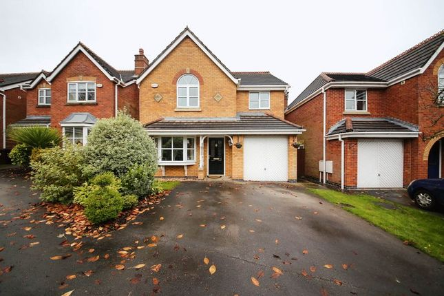 Thumbnail Detached house for sale in Pepperwood Drive, Wigan