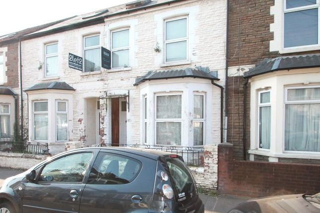 Thumbnail Terraced house for sale in Glenroy Street, Roath, Cardiff