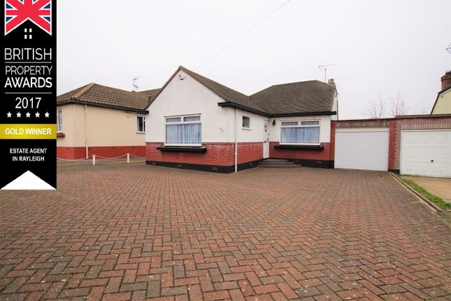 Thumbnail Bungalow for sale in St Martins Close, Rayleigh
