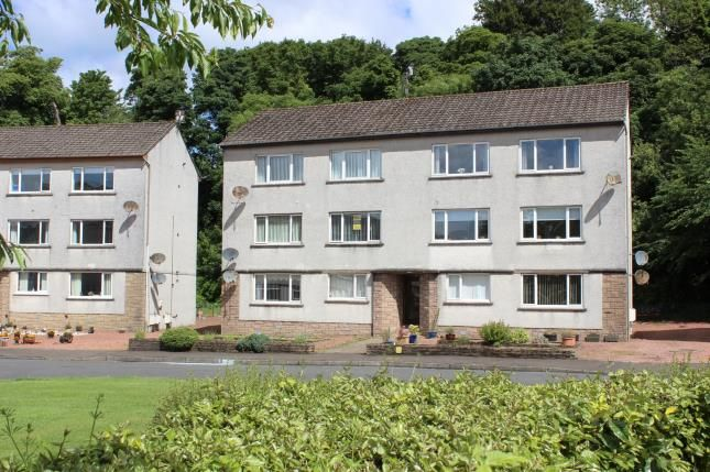 Thumbnail Flat for sale in Silverdale Gardens, Largs, North Ayrshire, Scotland