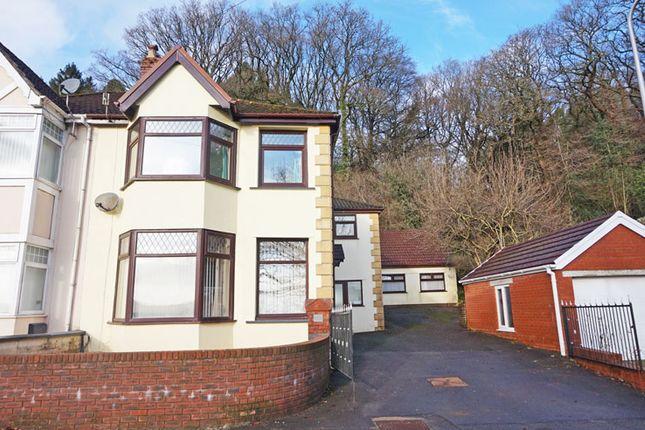 4 bed semi-detached house for sale in Blackbrook, Treharris CF46