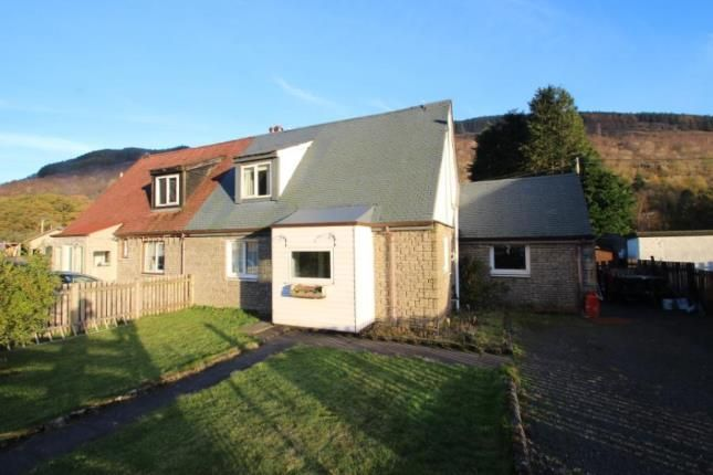 Thumbnail Semi-detached house for sale in Forestry Houses, Succoth, Arrochar, Argyll And Bute
