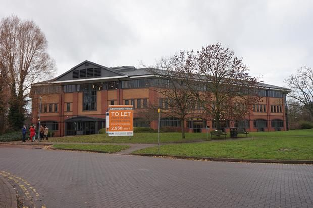 Thumbnail Office to let in Part First Floor Gawsworth House, Crewe Business Park, Crewe, Cheshire