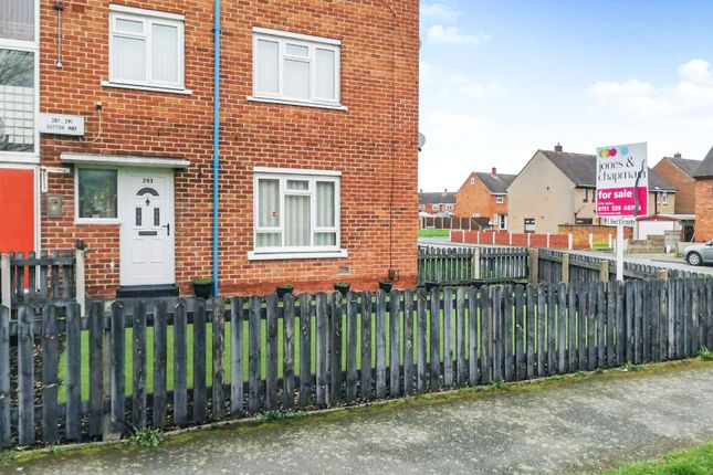 Thumbnail Maisonette for sale in Sutton Way, Great Sutton, Ellesmere Port