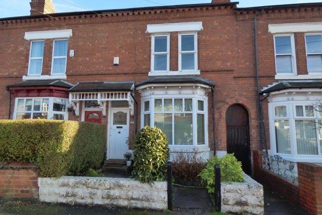 Thumbnail Terraced house for sale in Grosvenor Road, Harborne, Birmingham