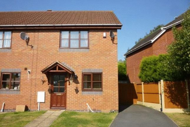 Thumbnail Terraced house to rent in Weavers Court, Ketley Bank, Telford