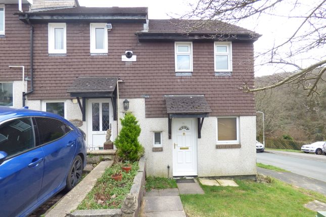 Thumbnail End terrace house to rent in Redruth Close, Plymouth